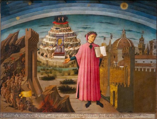 Den Gudomliga komedin (Dante Alighieri)