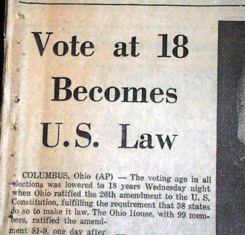 26th Amendment