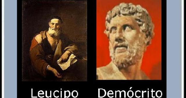 Demócrito y Leucipo