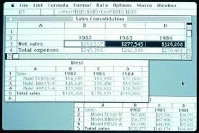 Lanzamiento de Excel