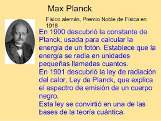 Teoría Cuantica Planck
