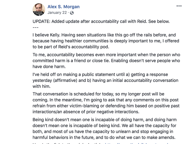 Alex Morgan Joins Reid's Accountability Pod