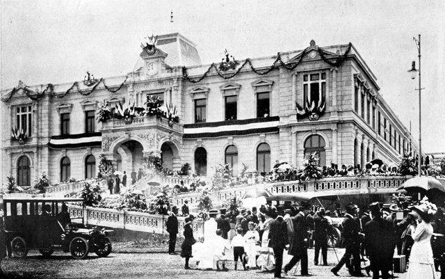 """Fundación del Manicomio General """"La Castañeda"""" (Ciudad de México)."""