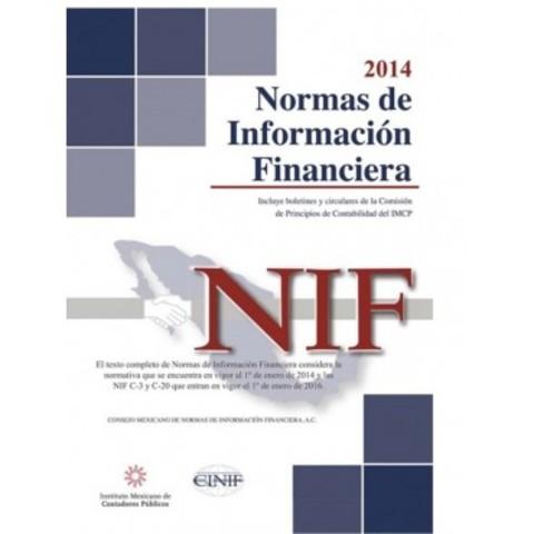 """Se emite el libro """"Normas de Información Financiera"""""""