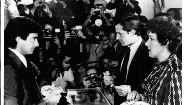 Primeras elecciones democráticas tras el franquismo