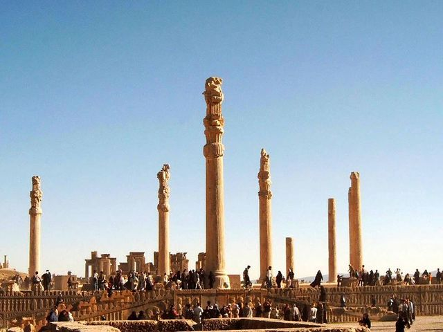Start of Persian Great Cities