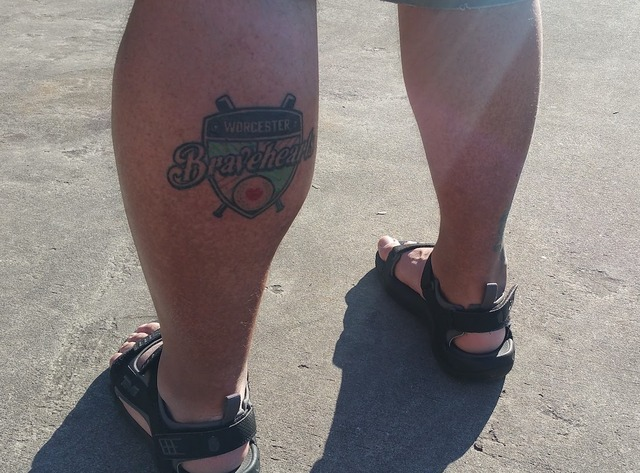 The First Bravehearts Tattoo
