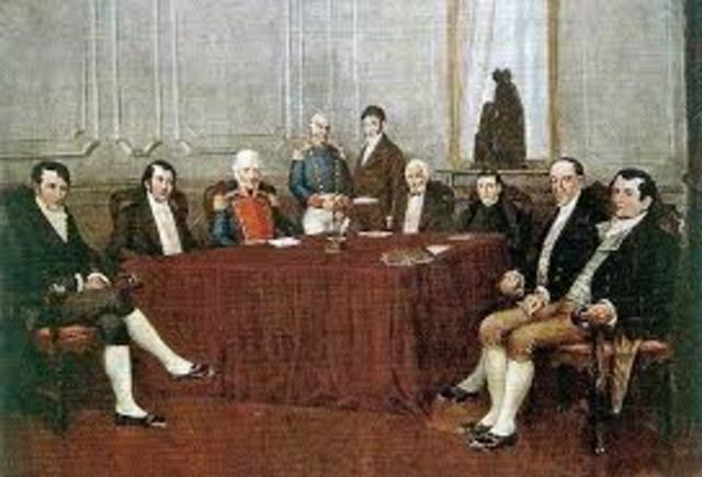 Primer Junta de gobierno
