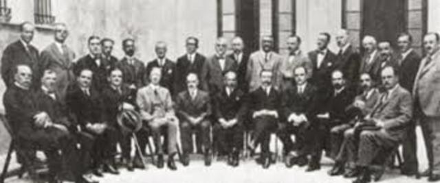 Primera Convención Sanitaria Nacional.