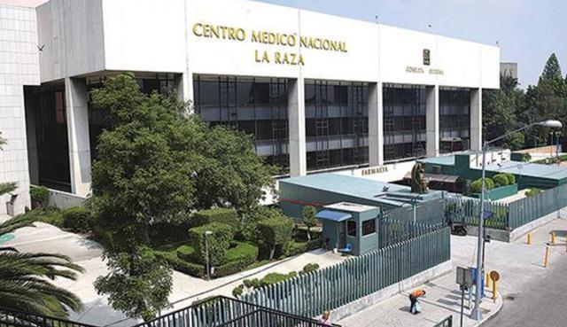 """Inauguración del Hospital """"La Raza"""" del IMSS; hoy, junto con otros hospitales, constituye el Centro Médico Nacional """"La Raza"""" (Ciudad de México)."""