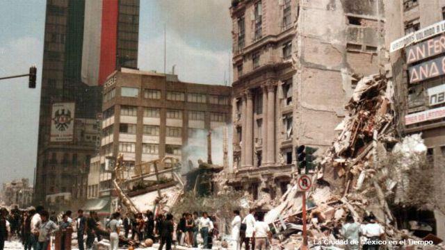 Un sismo destruyó gran parte de la capacidad hospitalaria, en particular la de la Ciudad de México.