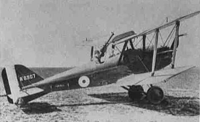 Fighter Planes with Mounted Machineguns