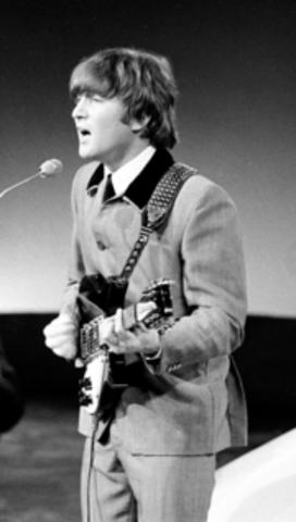John Lennon born.