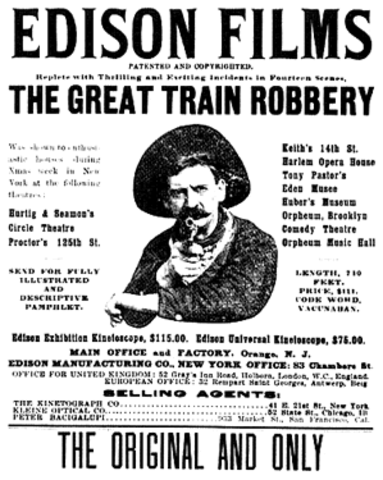"""""""The Great Train Robbery"""" is Filmed"""