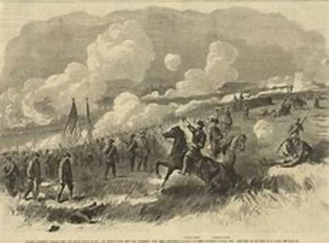 Battle at Bull Run