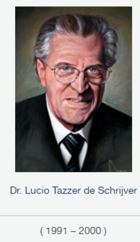 Rector Dr. Lucio Tazzer De Schriver, fsc de 1991 a 2000