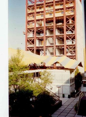 Construcción de la Torre Administrativa