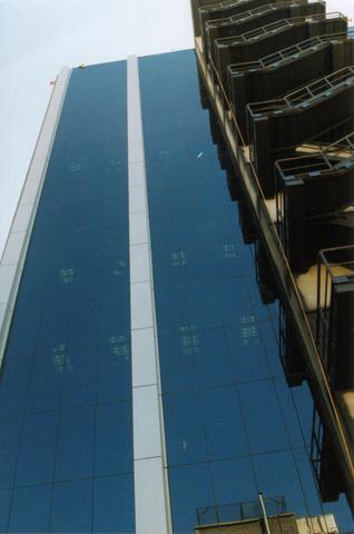 Fachada de la Torre Administrativa o edificio 1D
