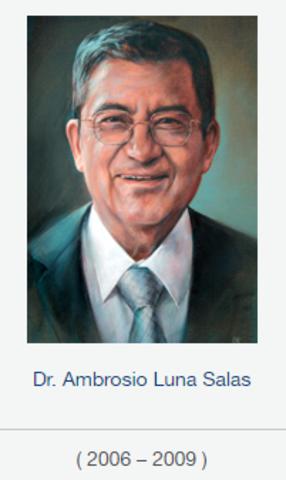 Rector Dr. Ambrosio Luna Salas, fsc  de 2006 a 2009