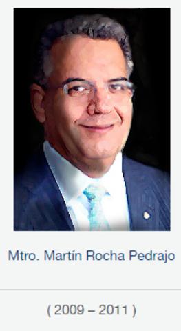 Rector Mtro. Martín Rocha Pedrajo, fsc de 2009 a 2011