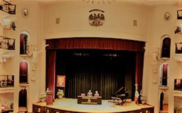 Interior Teatro La Salle