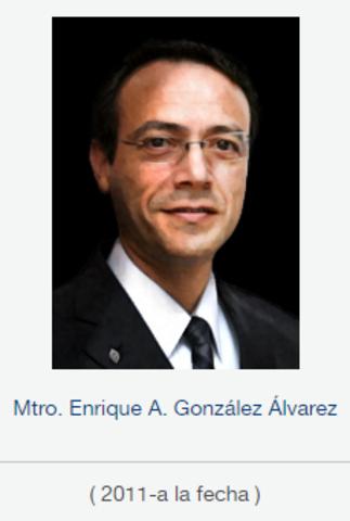 Rector Rector Dr. Enrique Alejandro González Álvarez, fsc de 2011 a la fecha