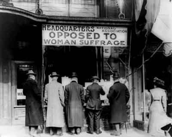 Opposition to Women's Suffrage by Women