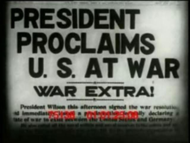 Entering WWI