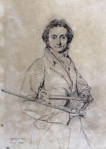 Niccolò Paganini (Romántico)