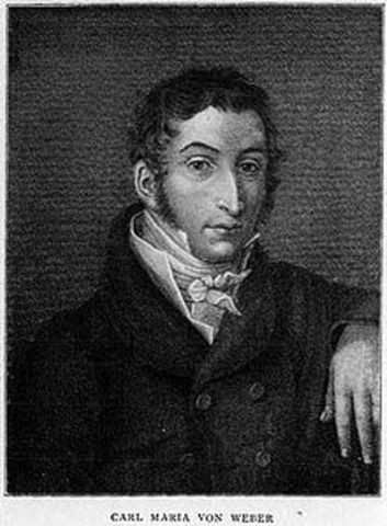 Carl Maria von Weber (Romántico)