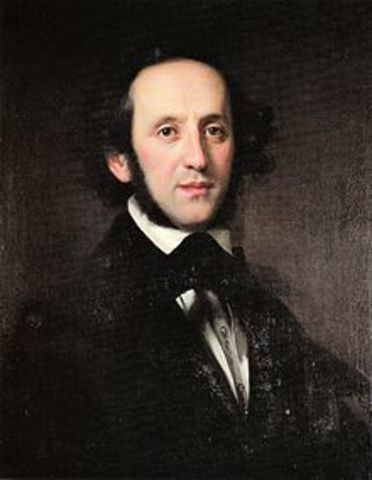Felix Mendelssohn (Romántico)