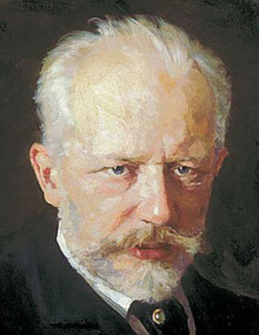 Piotr Ilich Chaikovski (Romántico)