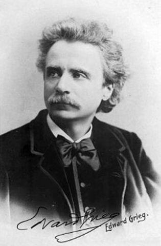 Edvard Grieg (Romántico)