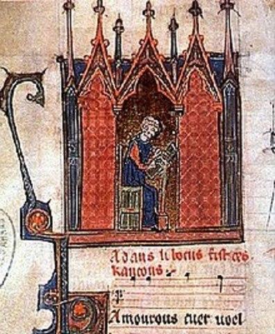 Adam de la Halle (Edad Media)