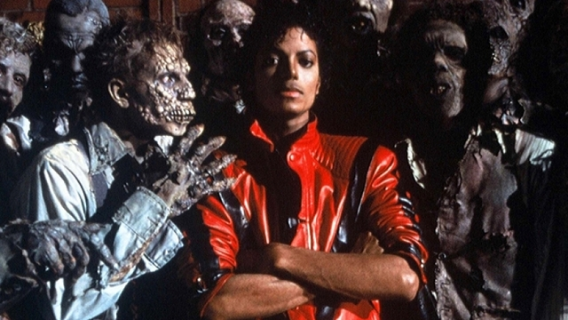Jackson releases the Thriller music video