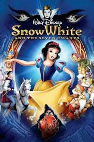 """""""Snow White and the Seven Dwarfs"""" is released."""