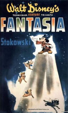 """Fantasia"", a Walt Disney Film, was released."