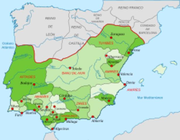 1031 Comienzo Reino de Taifas.