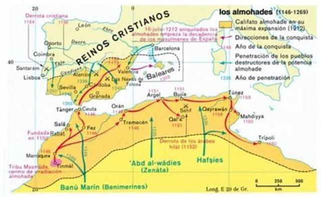 1147 Invasión almohades.