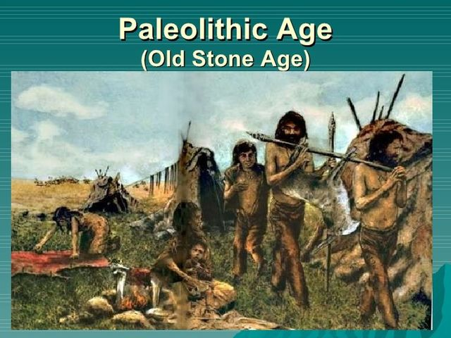 Periodo Paleolítico