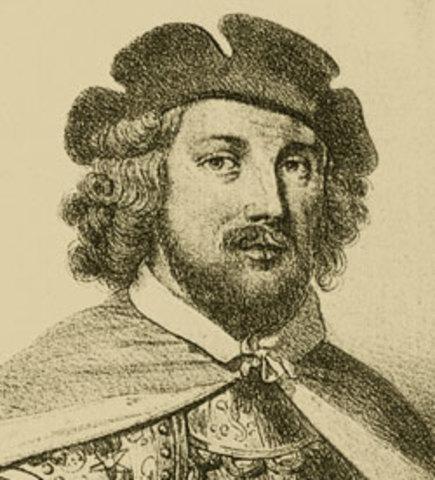 Jean Bethancourt inicia la conquista de las islas Canarias