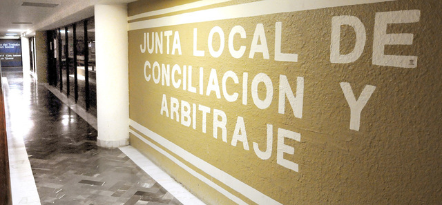 Reglamento de las juntas de conciliación