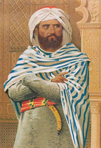 Abd el Rahmán I proclama el Emirato Independiente de Damasco