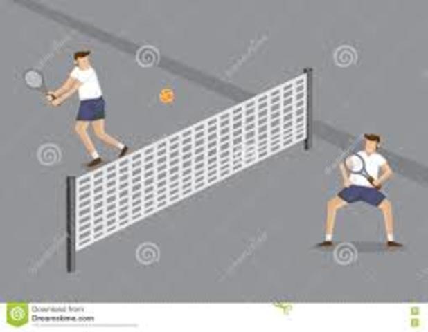 Jean William Piaget Metáfora del partido de tenis.