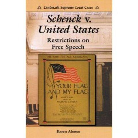Schenck v United States of America