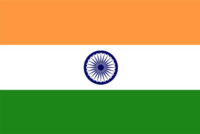Englænderne trak sig ud af Indien
