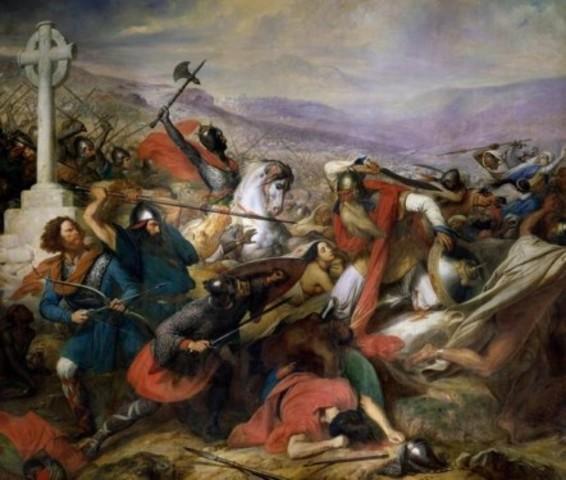 Batalla de Poitiers.