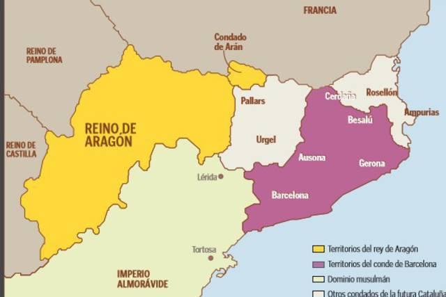 Unión dinástica del reino de Aragón y el condado de Barcelona