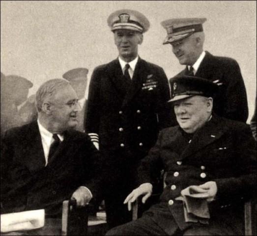 La charte de l'Atlantique le 14 août 1941