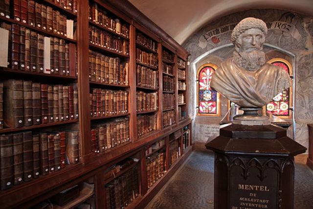 Иоганн Ментелин. Типография в Страсбурге